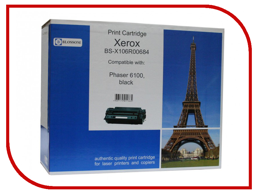Картридж Blossom BS-X106R00684 для Xerox Phaser 6100 Black<br>