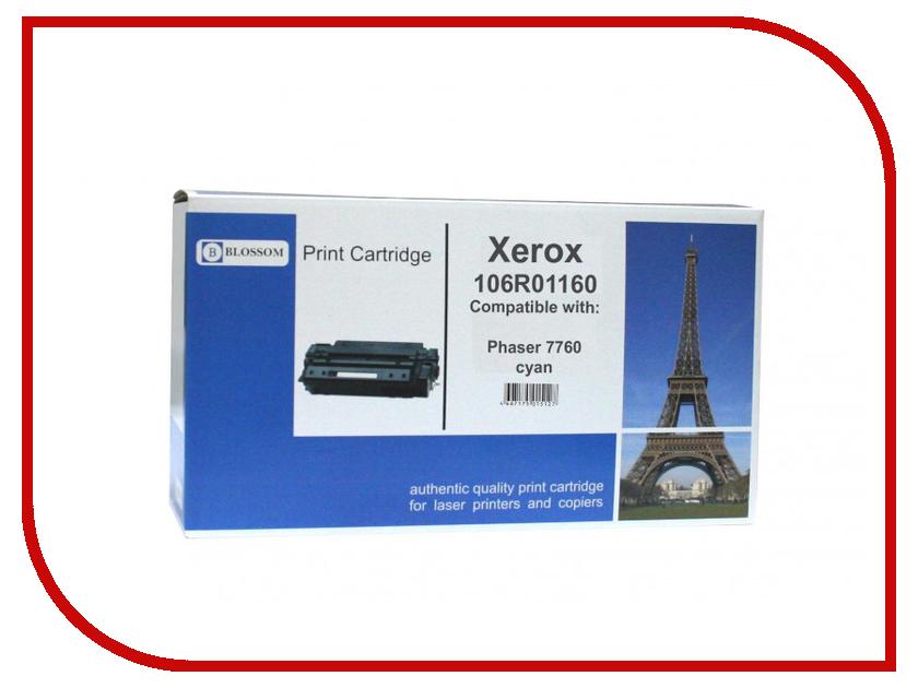 Картридж Blossom BS-X106R01160 для Xerox Phaser 7760 Cyan<br>