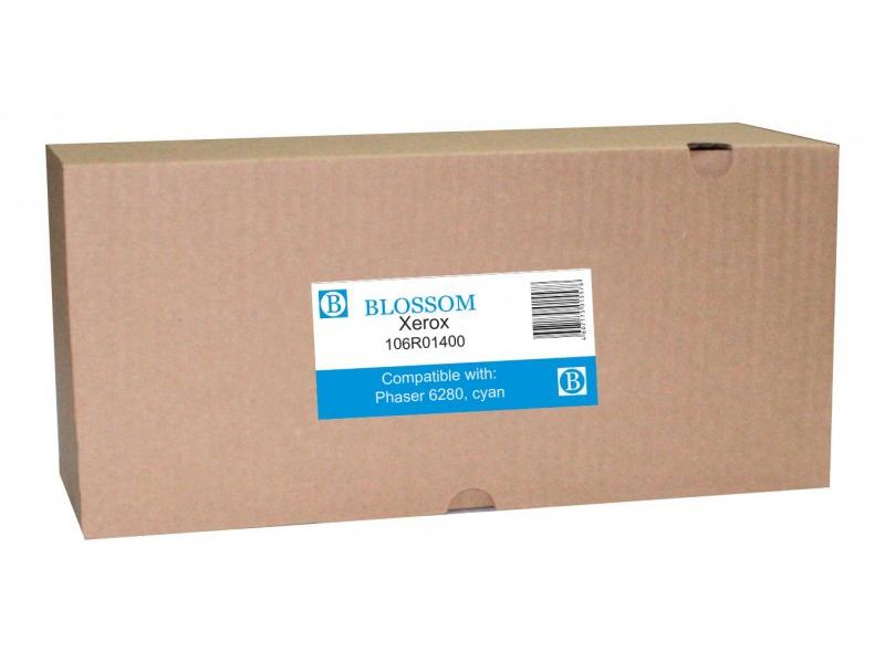 Картридж Blossom BS-X106R01400 для Xerox Phaser 6280 Cyan
