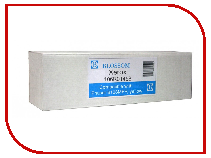Картридж Blossom BS-X106R01458 для Xerox Phaser 6128MFP Yellow картридж blossom bs epls050611 для epson c1700 1750 cx17 yellow
