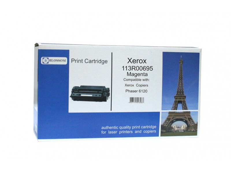 Картридж Blossom BS-X113R00695 для Xerox Phaser 6120/6115MFP Magenta