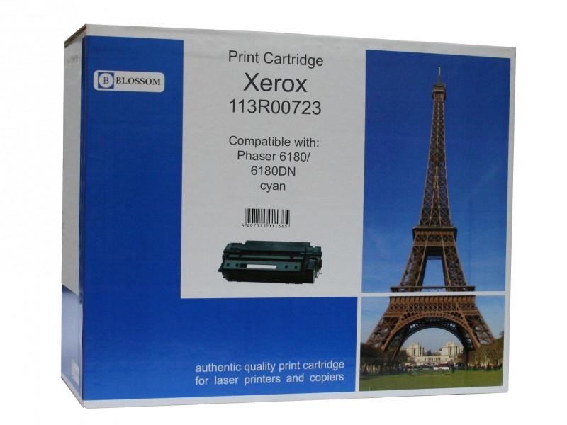 Картридж Blossom BS-X113R00723 для Xerox Phaser 6180/6180DN Cyan
