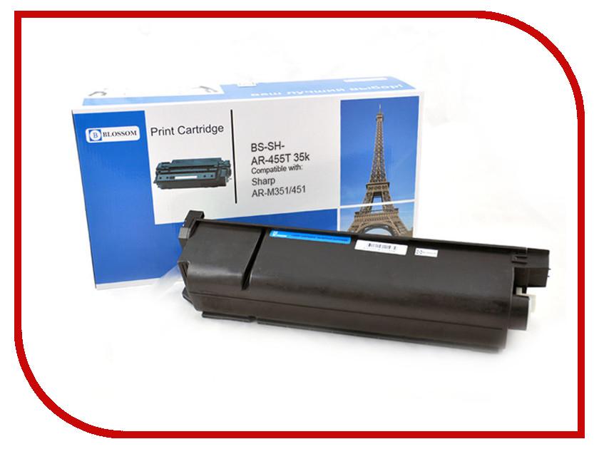 Картридж Blossom BS-SH-AR455T для Sharp AR-M351/M451 Black<br>