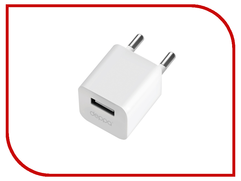 Зарядное устройство Deppa Ultra USB 1000mA White 11301 стоимость
