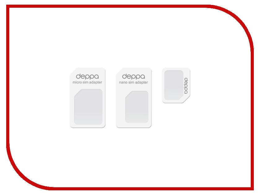 Аксессуар Deppa nanoSIM &amp; microSIM 74000<br>
