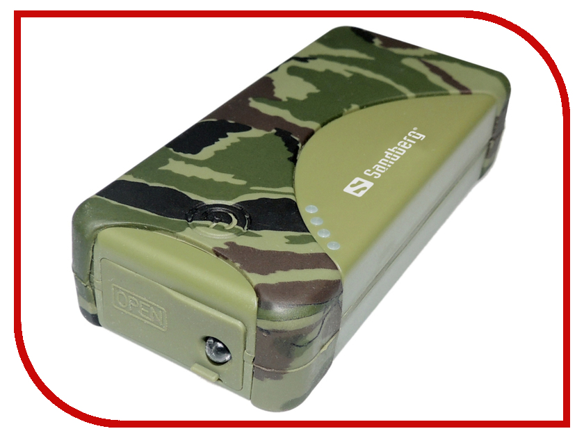 Аккумулятор Sandberg Outdoor Power Bank 5200 mAh 420-22