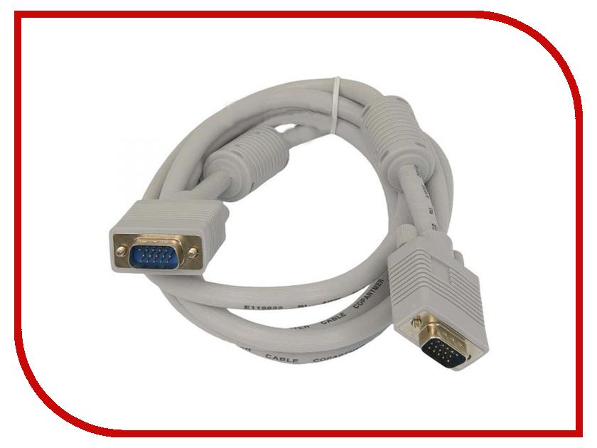 Аксессуар 5bites VGA HD15M 1m APC-133-010 аксессуар 5bites usb am min 5p 1m uc5007 010