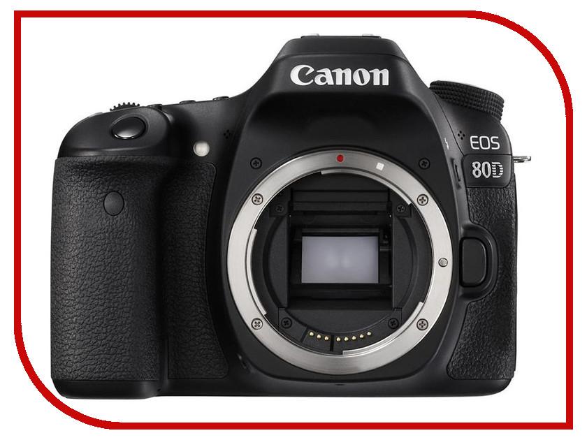 Фотоаппарат Canon EOS 80D Body зеркальный цифровой фотоаппарат canon eos 7d mark ii body