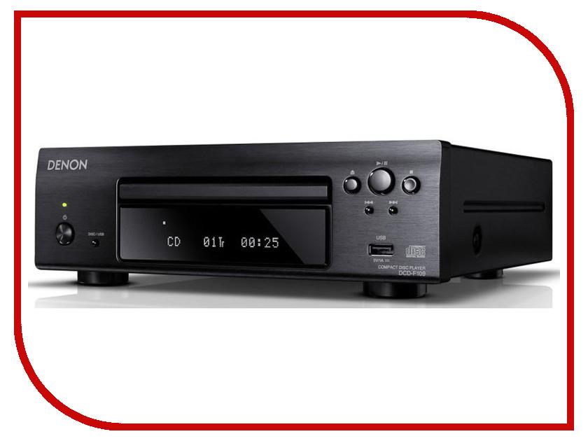 CD-проигрыватель Denon DCD-F109 Black
