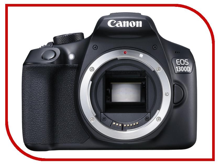 Фотоаппарат Canon EOS 1300D Body фотоаппарат canon eos 1300d body