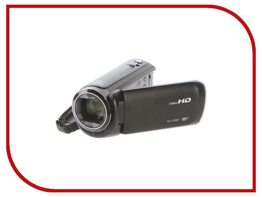 Видеокамера Panasonic HC-V380 panasonic 4k видеокамера