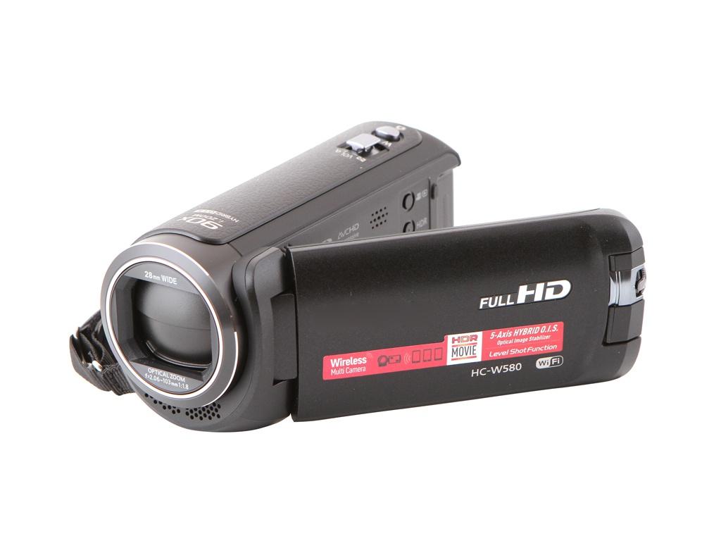 Фото - Видеокамера Panasonic HC-W580 видеокамера panasonic hc x1000e