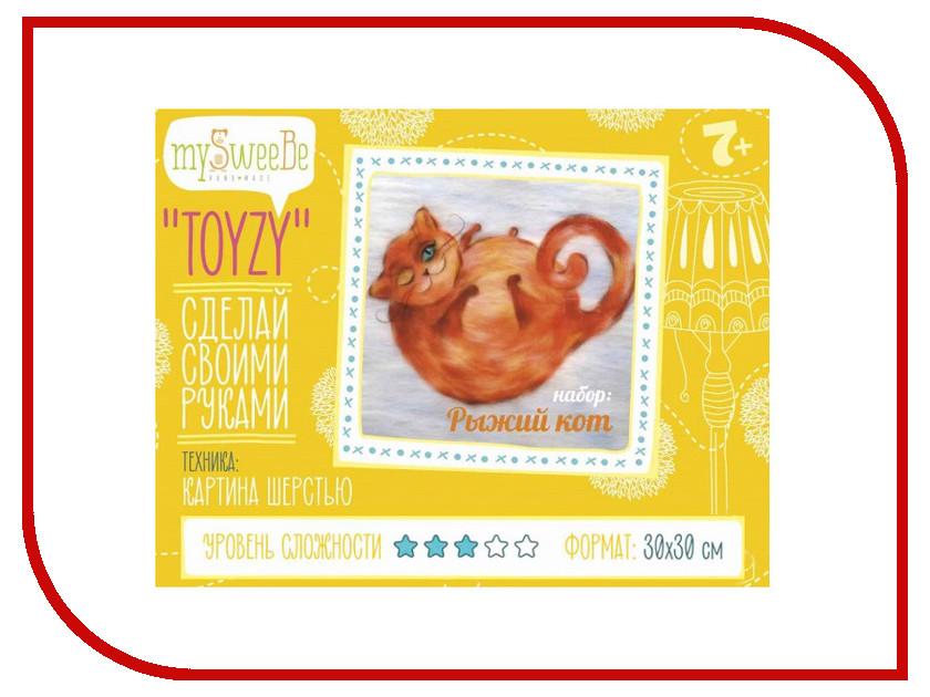 Набор для творчества mySweeBe TOYZY Рыжий кот TZ-P031