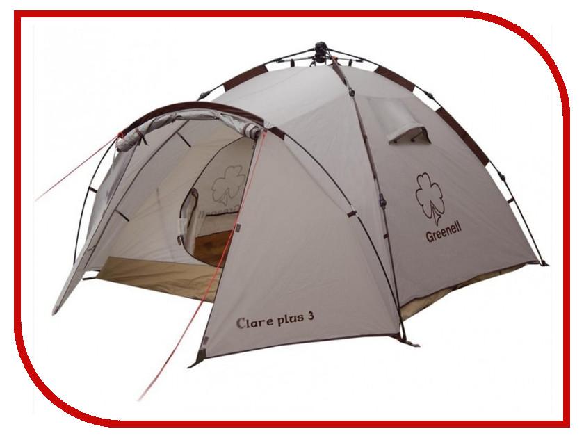 Палатка Greenell Клер плюс 3 Brown 95729-230-00