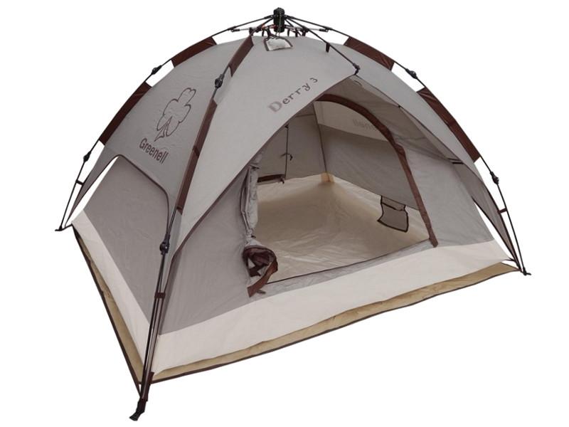 Палатка Greenell Дерри 3 Brown 95731-230-00