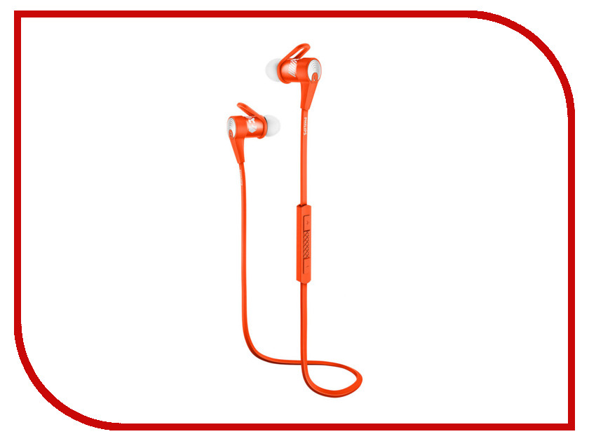 Гарнитура Philips ActionFit SHQ7300OR<br>