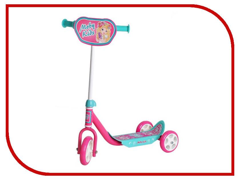 Самокат Moby Kids Мечта Pink 64637