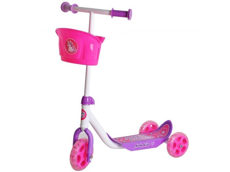 Самокат Moby Kids Кроха Pink 64639