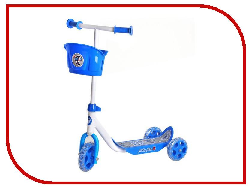 Самокат Moby Kids Кроха Blue 64640