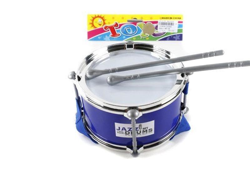 Детский музыкальный инструмент Shantou Gepai Барабан JD399D Blue<br>