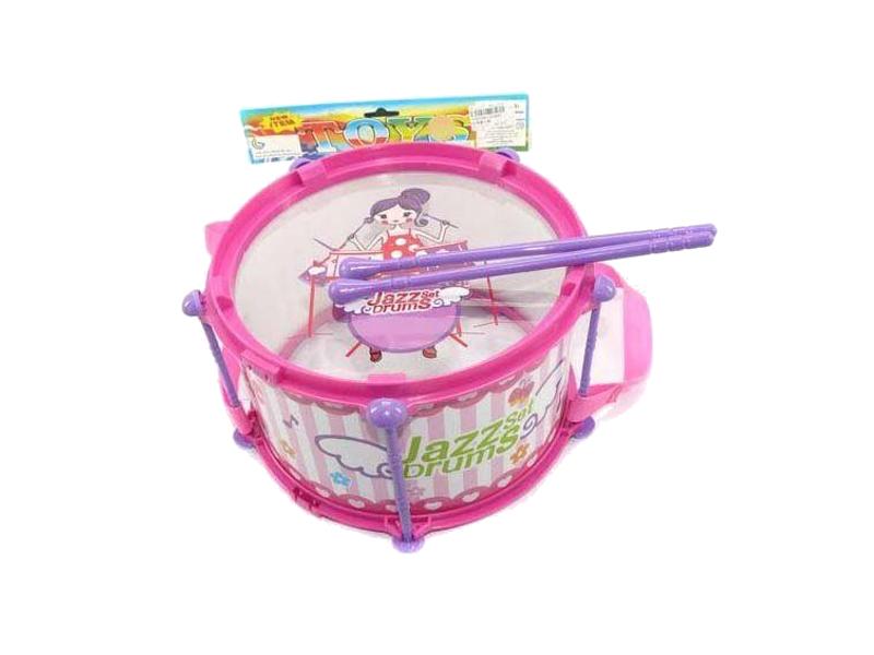 Детский музыкальный инструмент Shantou Gepai Барабан JD388C Pink<br>