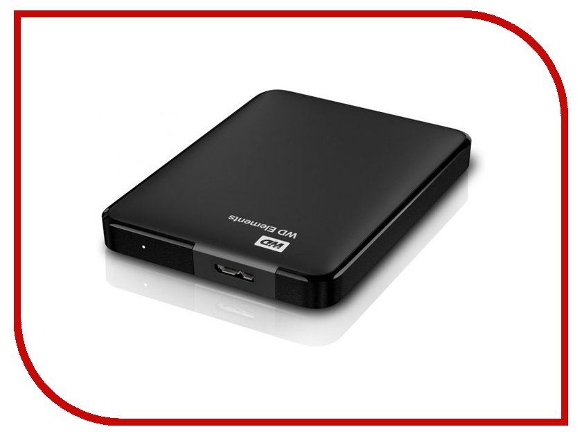 Жесткий диск Western Digital Elements Portable 3TB USB 3.0 WDBU6Y0030BBK-EESN