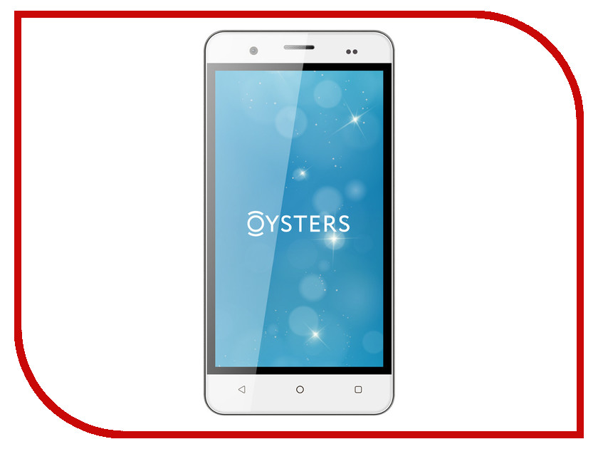 Сотовый телефон Oysters Pacific 4G Silver<br>