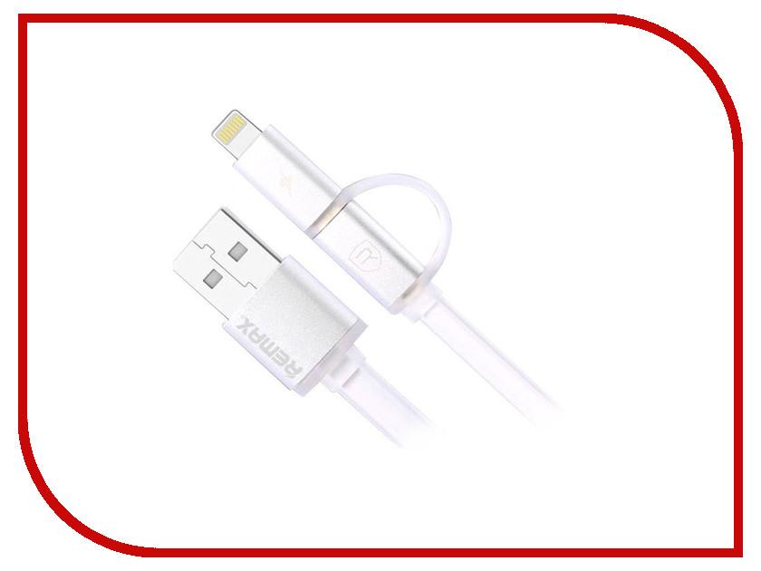 Аксессуар Remax Aurora для iPhone 6 и MicroUSB White A-C-009<br>