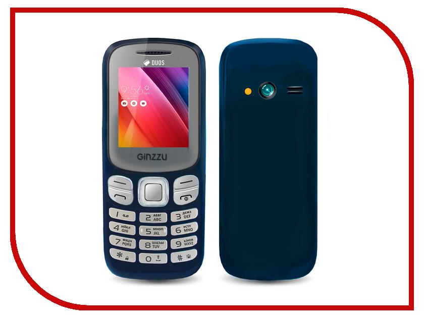 Сотовый телефон Ginzzu M103 DUAL mini Blue<br>