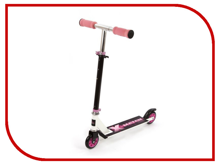 Самокат X-Match Music 64650 Pink<br>