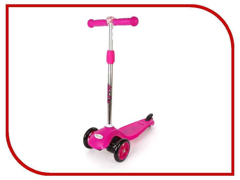 Самокат Moby Kids 64659 Pink
