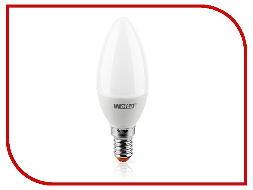 Лампочка Wolta LED C 7W 3000K E14 25YC7E14<br>