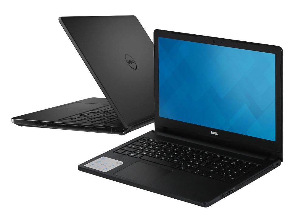 Ноутбук Dell Inspiron 5558 Black 5558-0417 Intel Core i5-5200U 2.2 GHz/8192Mb/1000Gb/DVD-RW/nVidia GeForce 920M 4096Mb/Wi-Fi/Bluetooth/Cam/15.6/1920x1080/Linux<br>