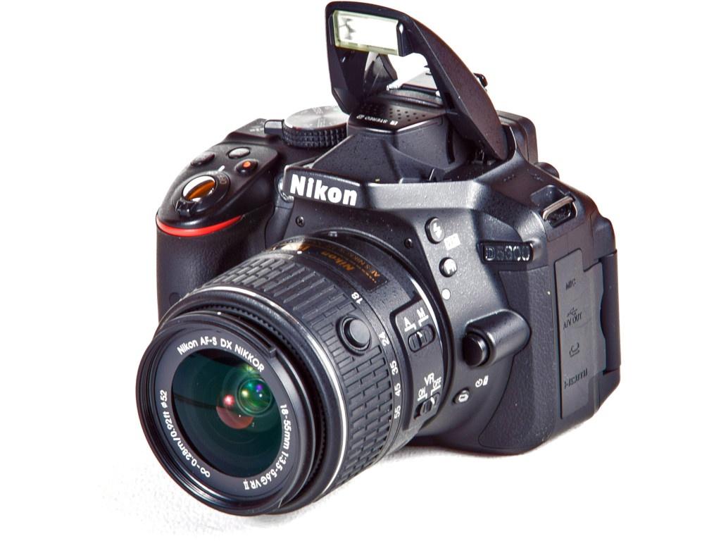 Фотоаппарат Nikon D5300 Kit 18-55 mm VR AF-P Black