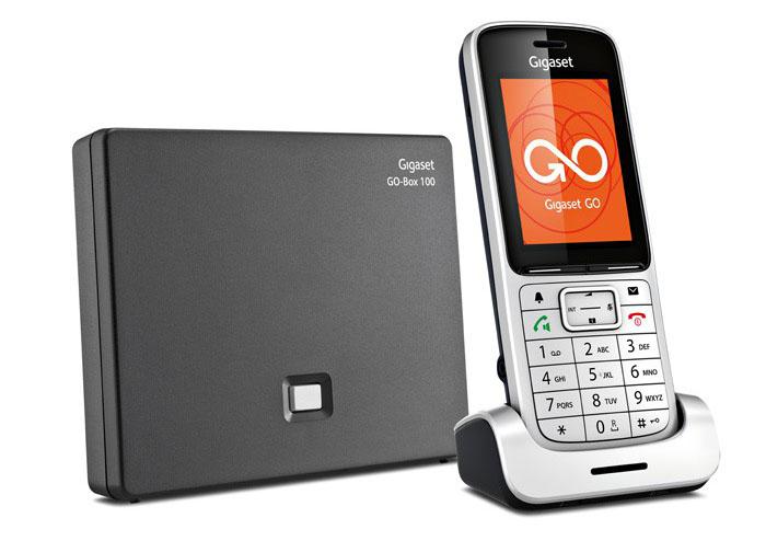 VoIP оборудование Gigaset SL450A Go Silver