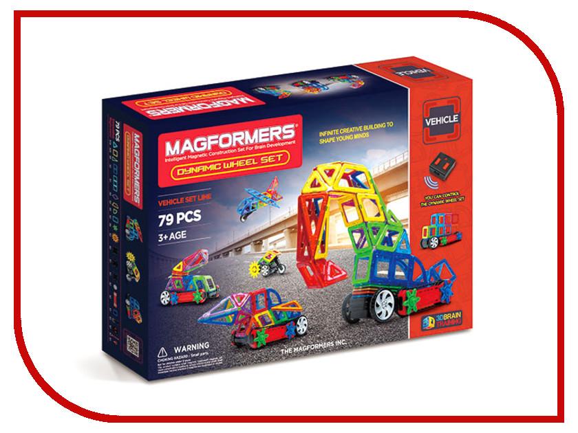 Игрушка Конструктор Magformers Dinamic Wheel Set 63116<br>
