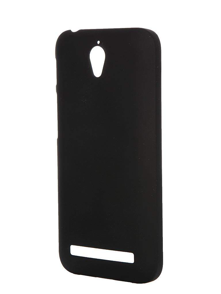 Аксессуар Чехол ASUS Zenfone Go ZC451TG Pulsar Clipcase PC Soft-Touch Black PCC0189<br>