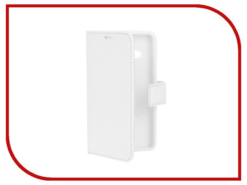 Аксессуар Чехол Microsoft Lumia 550 Pulsar Wallet Case White PWC0002