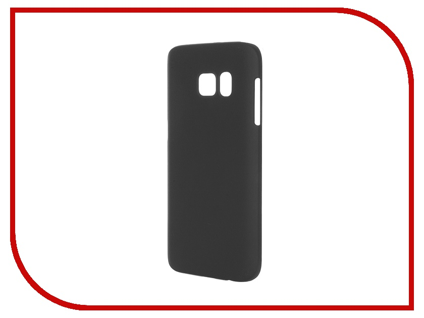 Аксессуар Чехол-накладка Samsung Galaxy S7 Pulsar Clipcase PC Soft-Touch Black PCC0187<br>