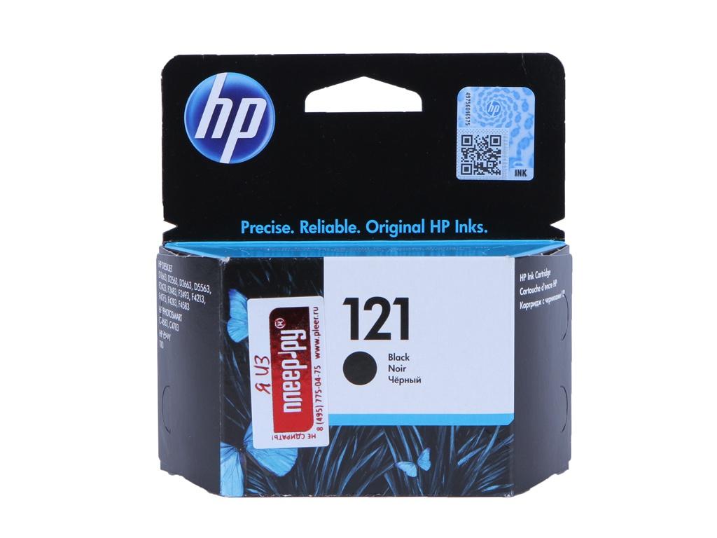 Картридж HP 121 CC640HE Black картридж hp cc640he 121 черный dj d2563 f4200
