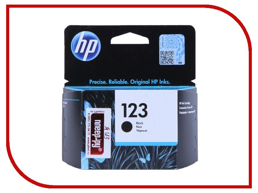 Картридж HP 123 F6V17AE Black картридж hp 934 black c2p19ae