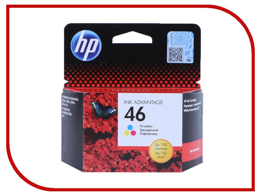 Картридж HP 46 Tri-Colour CZ638AE<br>