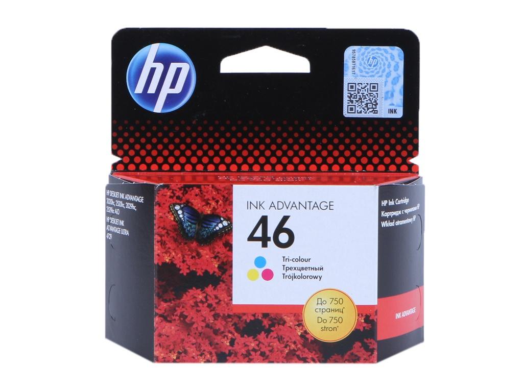 Картридж HP 46 CZ638AE Tri-Colour