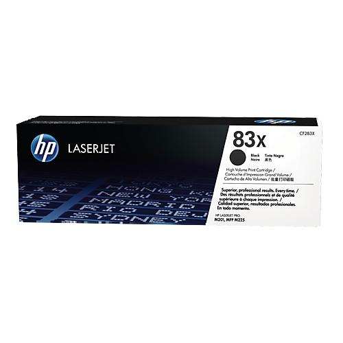 Картридж HP 83X CF283X Black