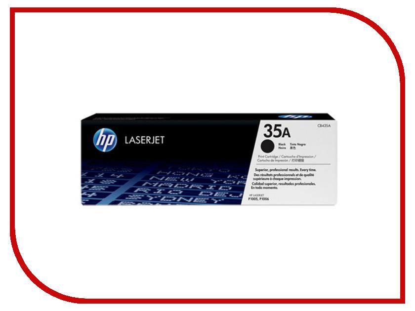 Картридж HP 35A Black CB435A<br>