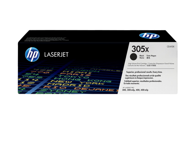 Картридж HP CE410X Black для LJ Pro300/400/300mfp/400mfp<br>