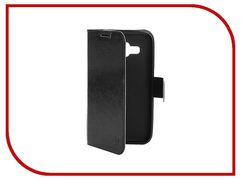 Аксессуар Чехол Samsung Galaxy Core Prime SM-360H / SM-361H/DS Pulsar Wallet Case Black PWC0011<br>