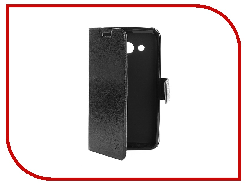 Аксессуар Чехол Samsung Galaxy Core 2 Duos SM-G355H/DS Pulsar Wallet Case Black PWC0008