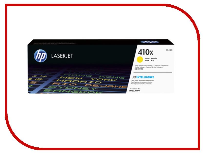 Картридж HP 410X CF412X Yellow hewlett packard hp лазерный мфу печать копирование сканирование