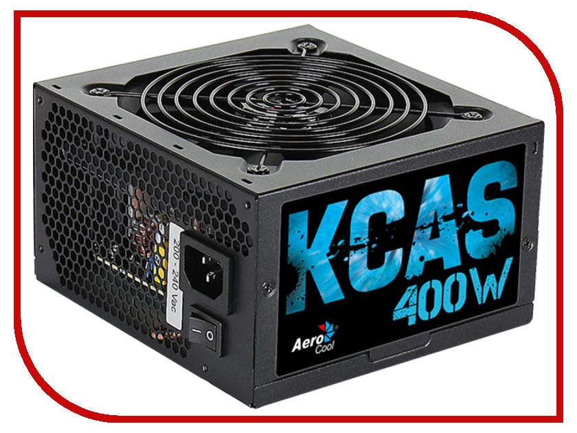 Блок питания AeroCool Retail KCAS-400W 400W блок питания atx 400 вт aerocool kcas 400w
